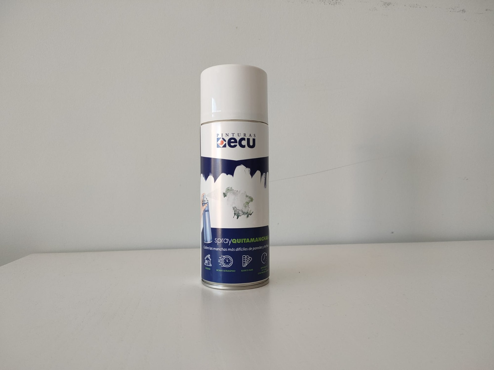 Nuevo Spray Quitamanchas de Pinturas Ecu