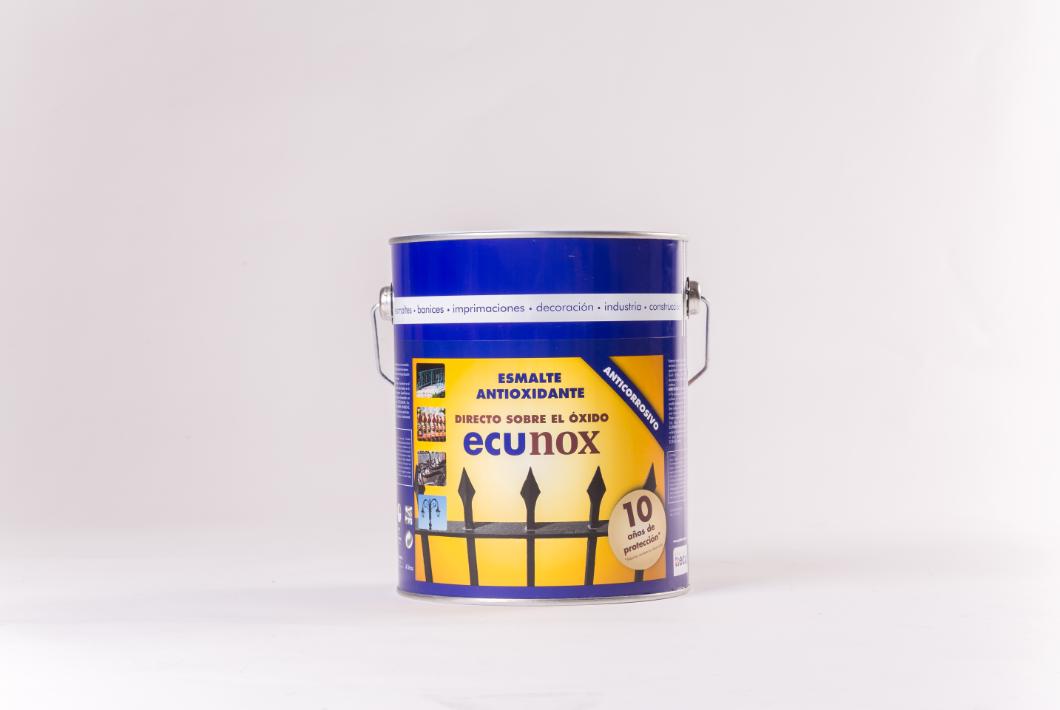 Ecunox es la solución para tus problemas de oxidación en las superficies de hierro
